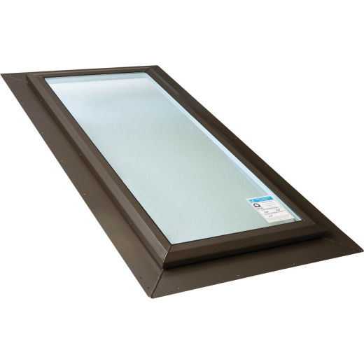 Kennedy Skylights 24 In. x 48 In. Bronze Self-Flashing Skylight