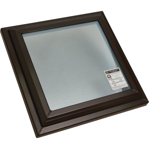 Kennedy Skylights 24 In. x 24 In. Bronze Fixed Glass Skylight
