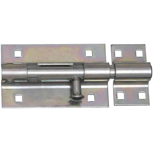 National 5 In. Zinc Extra Heavy Door Barrel Bolt