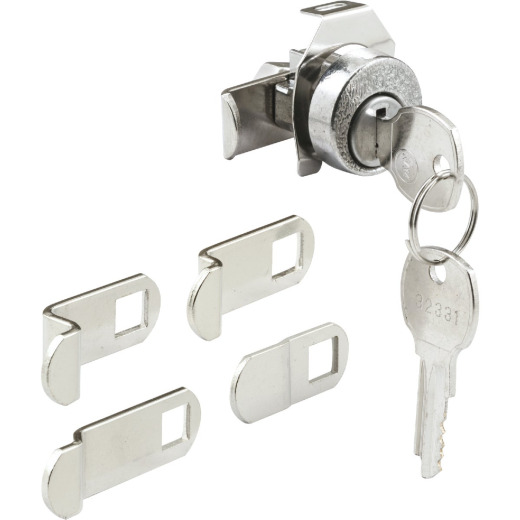 Defender Security Exterior Nickel Mailbox Lock
