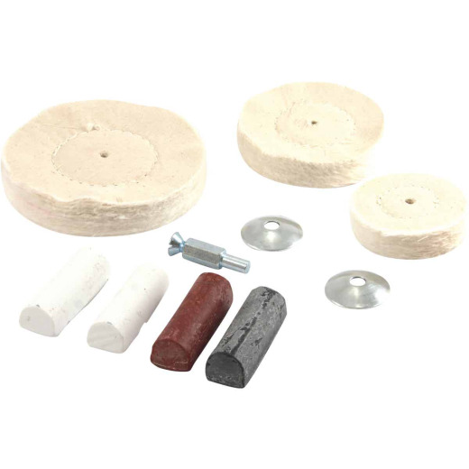 Forney Assorted 1/4 In. x Buffing Wheel