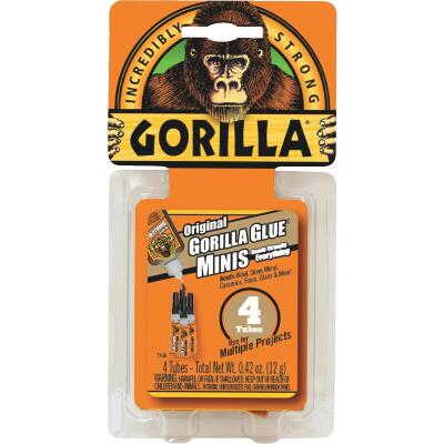 Gorilla 0.42 Oz. Original All-Purpose Glue Minis (4-Pack)