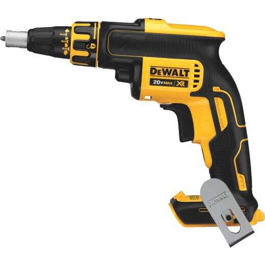 DeWalt 20 Volt MAX XR Lithium-Ion Brushless Drywall Cordless Screwgun (Bare Tool)