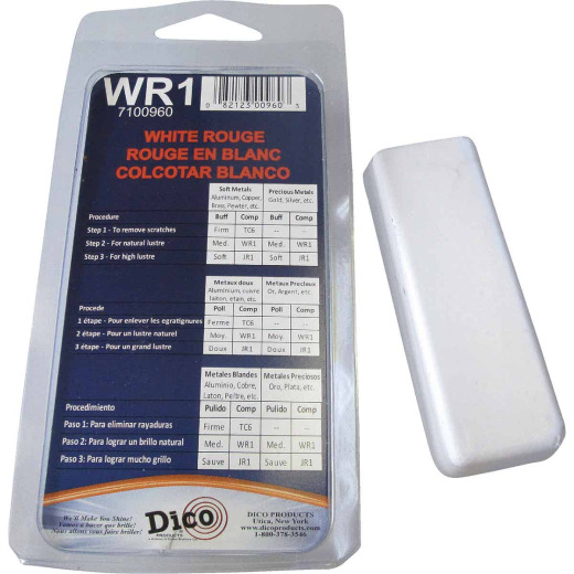 Dico White-Rouge 4 Oz.Buffing Compound