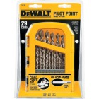 DeWalt 29-Piece Gold Ferrous Pilot Point Drill Bit Set, 1/16 In. thru 9/32 In. Image 4