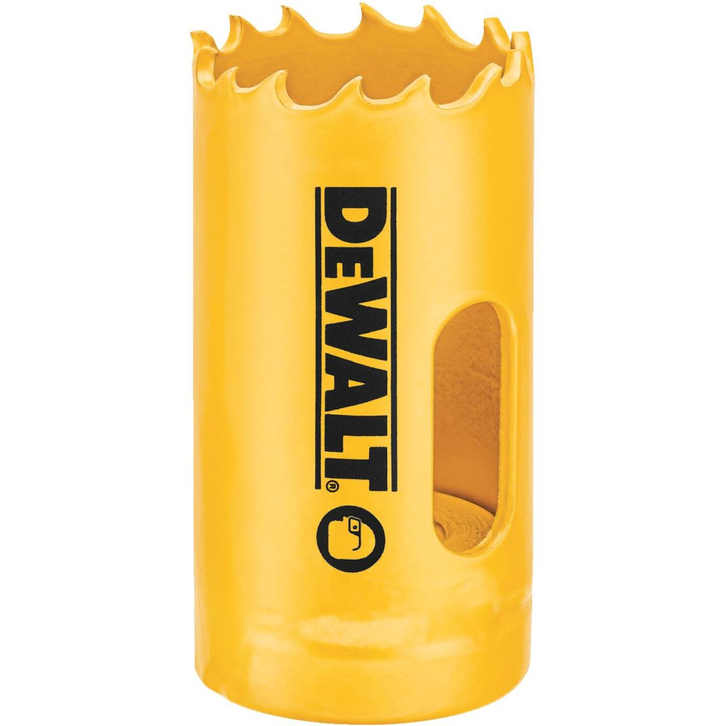 DeWalt 1-1/8 In. Bi-Metal Hole Saw Image 1