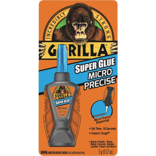 Gorilla 0.17 Oz. Liquid Micro Precise Super Glue
