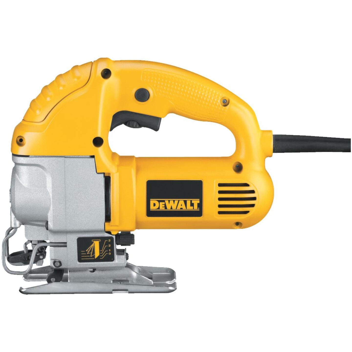 DeWalt 5.5A 4-Position 0 to 3100 SPM Jig Saw Image 9