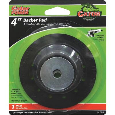 Gator 4 In. Power Angle Grinder Backing Pad