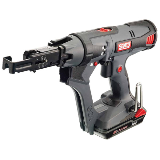 Senco DuraSpin DS215 18 Volt Lithium-Ion Autofeed Cordless Screwgun Kit