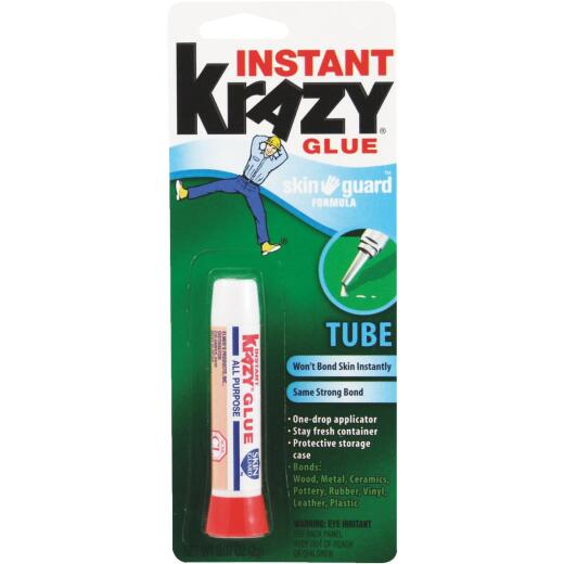 Krazy Glue 0.07 Oz. Liquid Skin Guard All-Purpose Super Glue