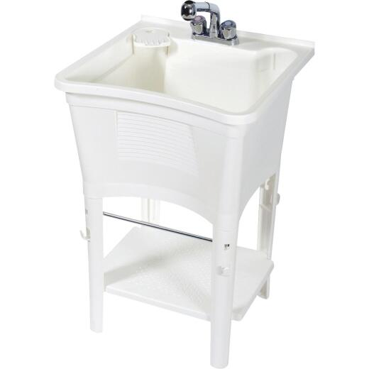 Zenith Deluxe Ergo 20 Gallon 24 In. W x 24 In. L Laundry Tub