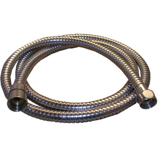 Lasco 69 In. Chrome  Stainless Steel Shower Hose