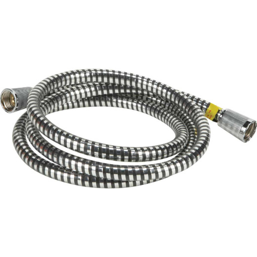 Home Impressions Chrome 7 Ft. Shower Hose