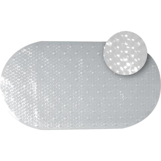 Zenith 15-7/10 In. x 27-1/2 In. Clear Bath Mat