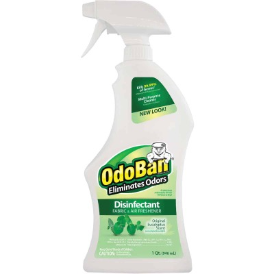 OdoBan 32 Oz. Eucalyptus Washable Surface Sanitizer & Deodorizer