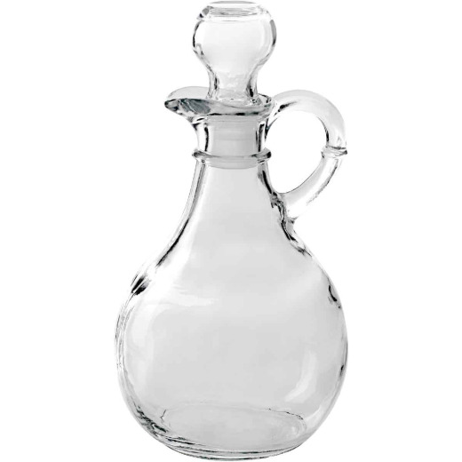 Anchor Hocking 10 Oz. Glass Dressing Cruet with Stopper
