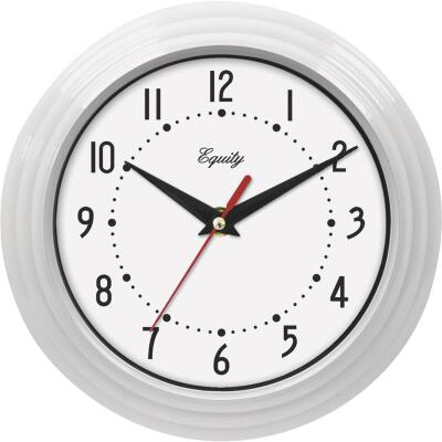 La Crosse Technology Equity White Traditional Wall Clock