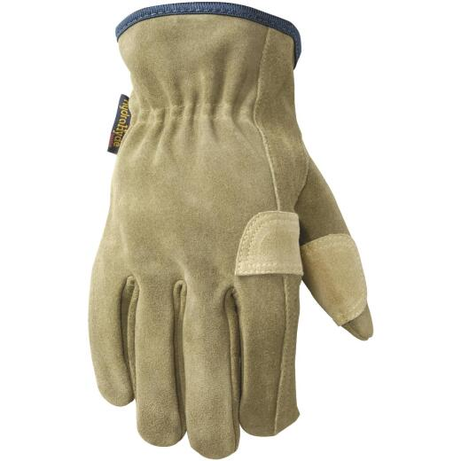 Wells Lamont HydraHyde Men's XL Suede Leather Work Glove