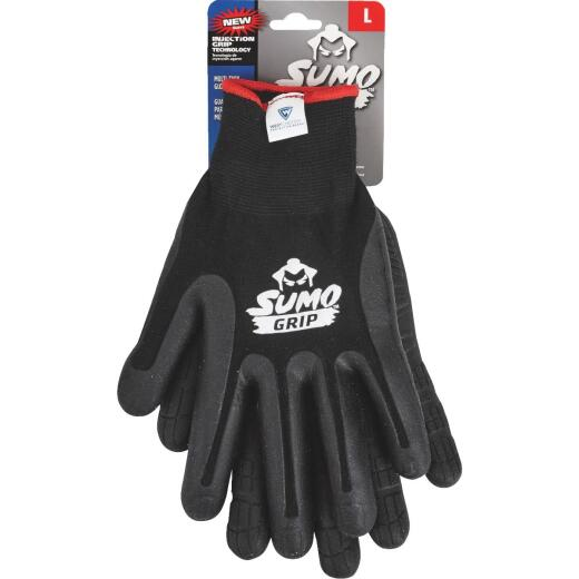West Chester Protective Gear Sumo Grip Men's Large Thermoplastic Rubber Coated Glove