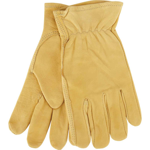 Do it Best Men's Large Top Grain Leather Work Glove
