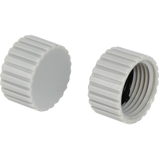 Best Garden Poly 5/8 In. Hose End Cap (2-Pack)