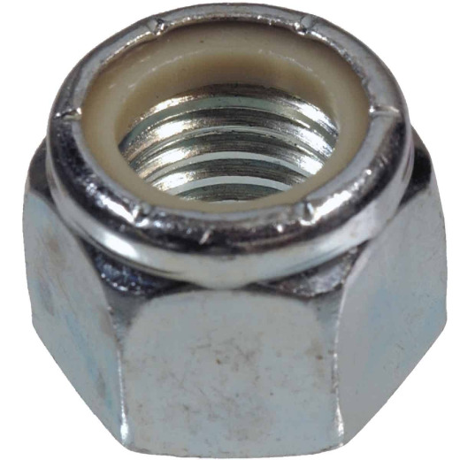 Hillman #6 32 tpi Steel Course Thread Nylon Insert Lock Nut (100 Ct.)