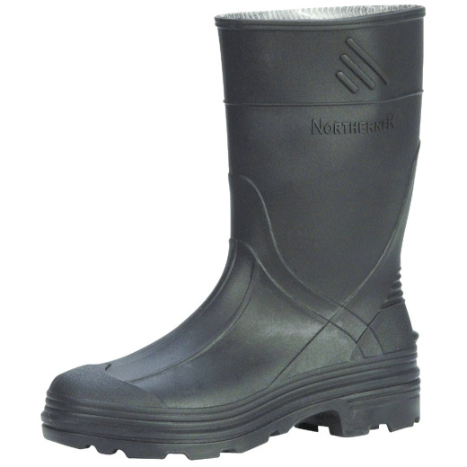Honeywell Servus Youth Size 1 Black PVC Rubber Boot