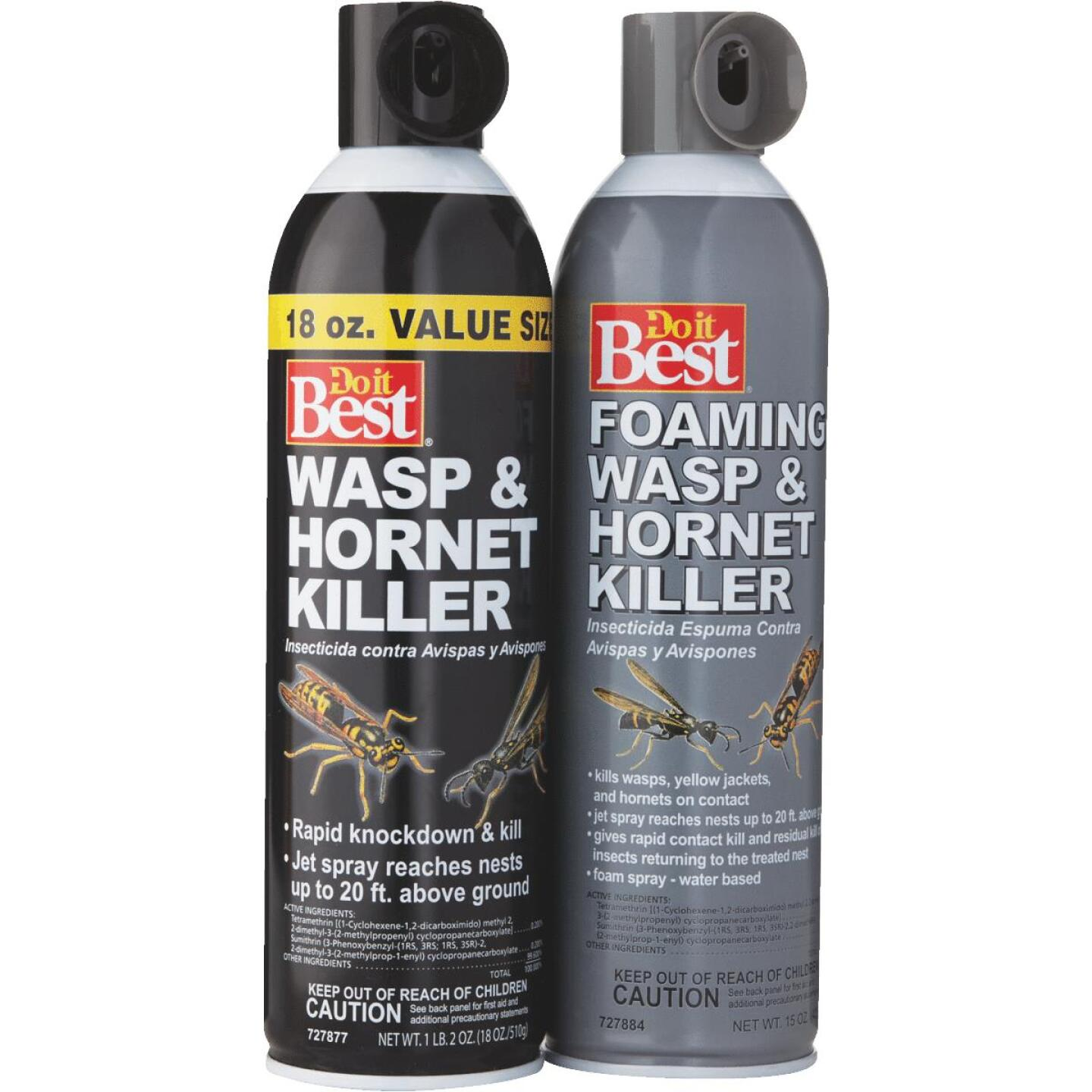 Do it Best 17.5 Oz. Foaming Aerosol Spray Wasp & Hornet Killer Image 6