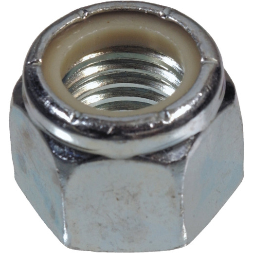 Hillman #10 32 tpi Fine Thread Nylon Insert Lock Nut (100 Ct.)