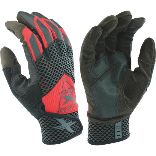 West Chester Protective Gear Extreme Work Knuckle KnoX Men's Large Synthetic Leather Work Glove