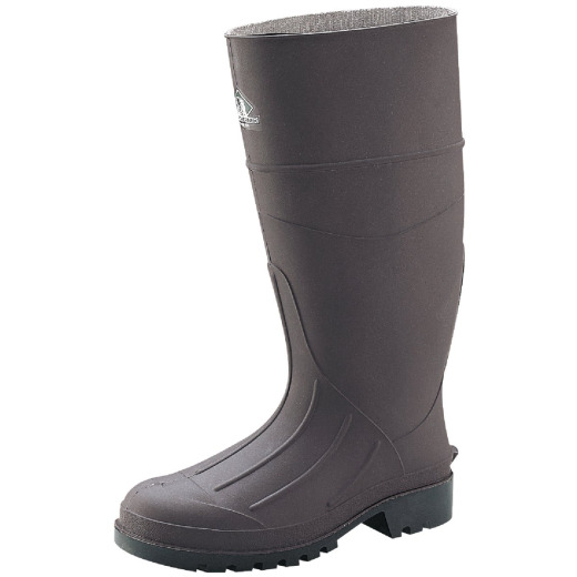 Honeywell Servus Men's Size 10 Brown PVC Rubber Work Boot
