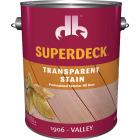 Duckback SUPERDECK Transparent Exterior Stain, Valley, 1 Gal. Image 1