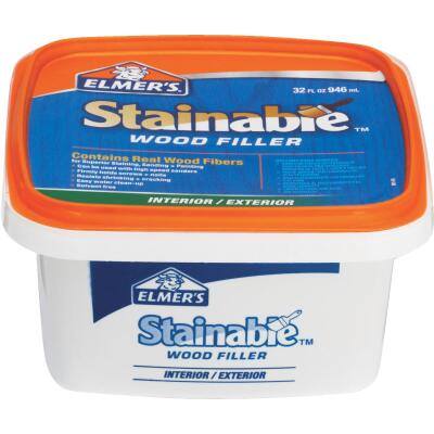 Elmer's Stainable Light Tan 32 Oz. Wood Filler