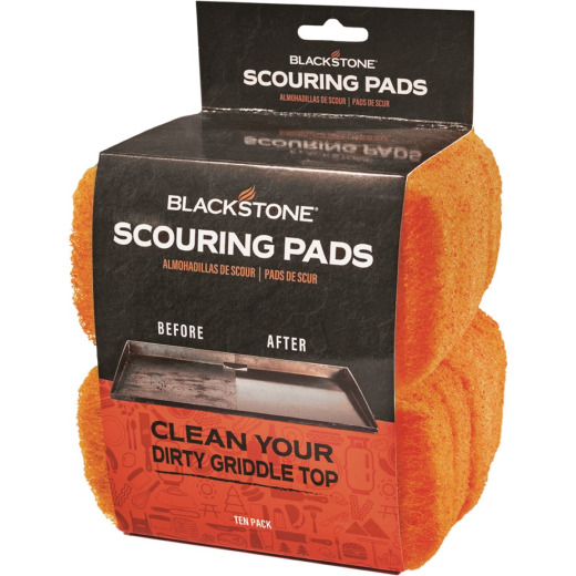 Blackstone 3 In. Nylon Fiber Griddle Cleaning Pad (5-Count)